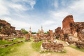 Ancient temple of Ayutthaya - PhotoDune Item for Sale