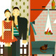 Couple in the Village House - GraphicRiver Item for Sale