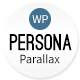 Persona - WordPress Responsive Creative Parallax - ThemeForest Item for Sale