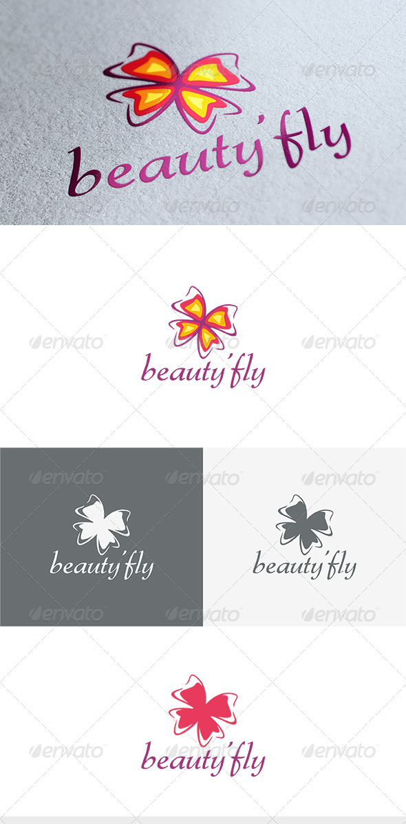 GraphicRiver Beauty Fly Logo 3669340