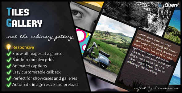 jQuery Tiles Gallery - CodeCanyon Item for Sale