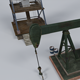 Oil Pump With Gas Pump - 3DOcean Item for Sale