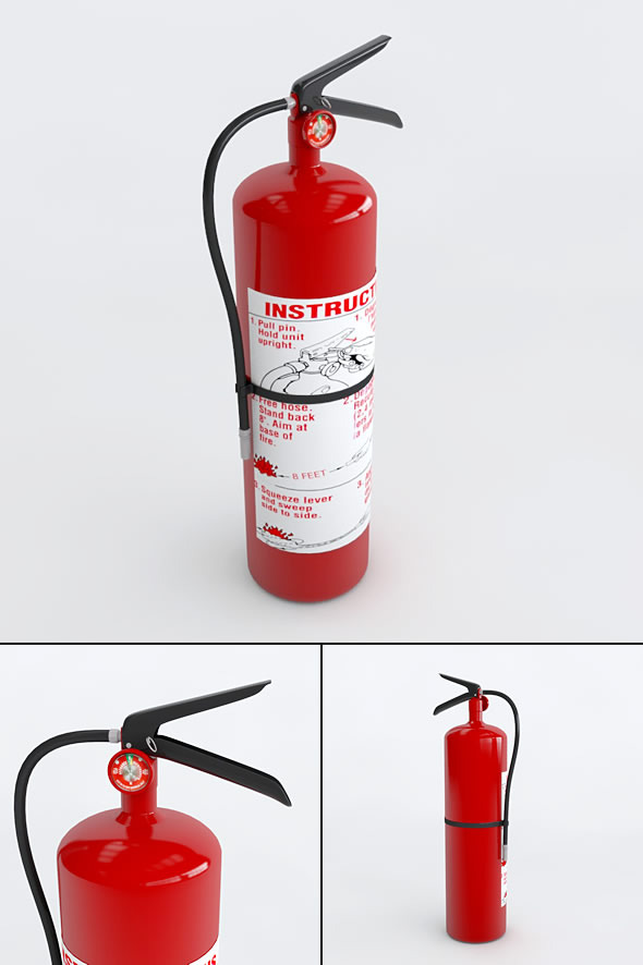 3DOcean Fire Extinguisher 3669778