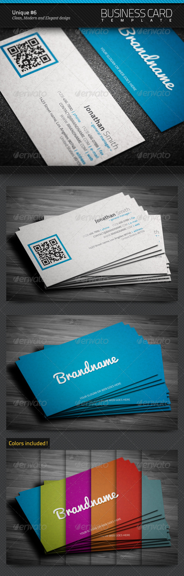 GraphicRiver Unique Business Card #6 3669850