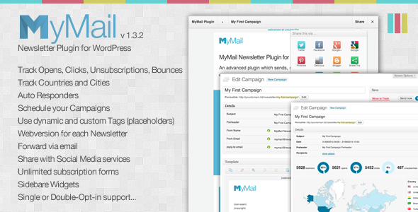 CodeCanyon MyMail Email Newsletter Plugin for WordPress 3078294
