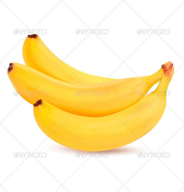 GraphicRiver Fresh Bananas Vector 3670139