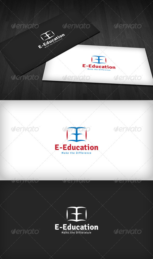 GraphicRiver E-Education Logo 3670329