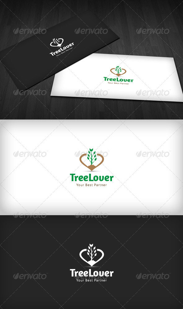 GraphicRiver Tree Lover Logo 3670513