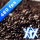 Roasted Coffee Beans 480fps - VideoHive Item for Sale