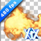 Flames In Alpha Channel 480fps - VideoHive Item for Sale