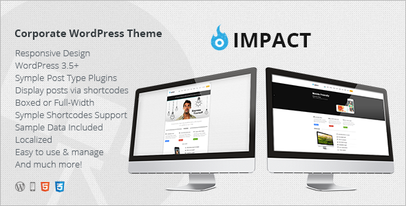 Impact | Responsive Multi-Purpose Theme