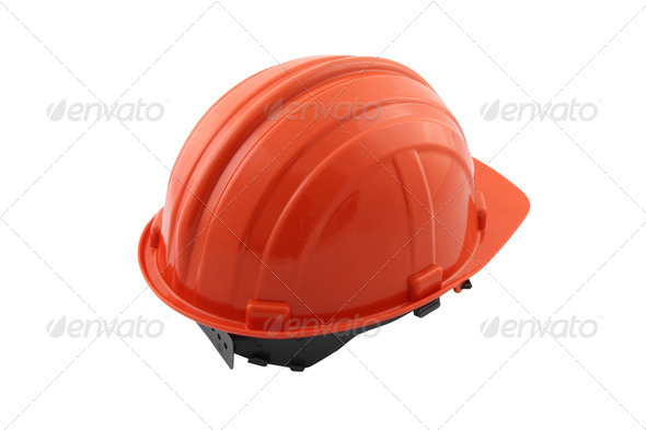 PhotoDune Back safety hat on white background 3675826