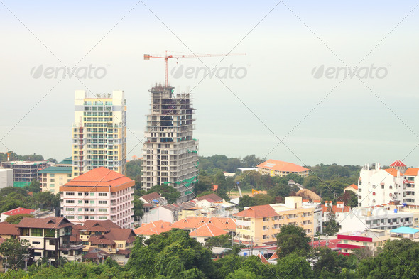 PhotoDune Construction building in local city top scence 3675831