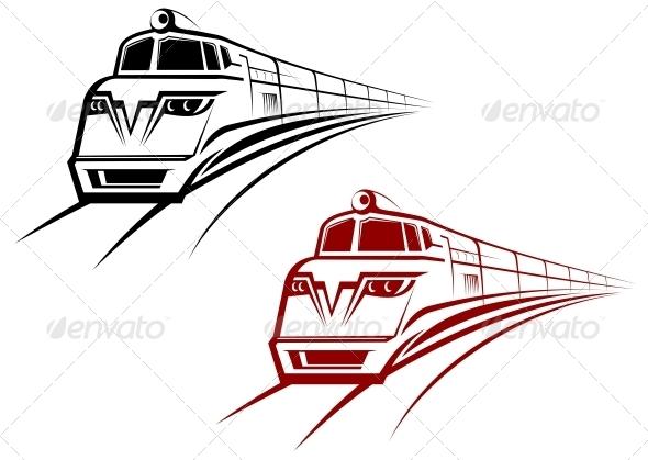 GraphicRiver Railroad and Subway Symbol 3676006