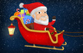 Santa Riding His Sleigh - PhotoDune Item for Sale