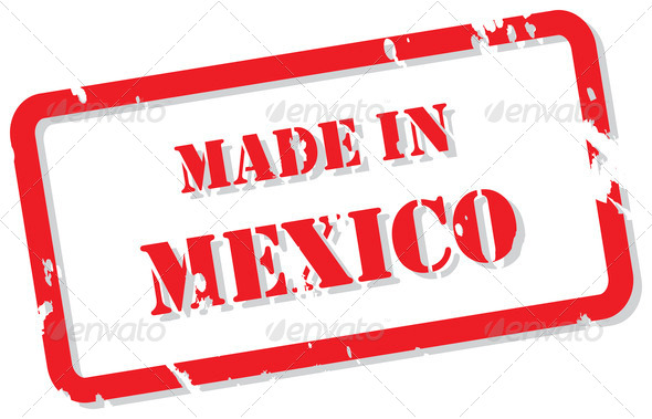 Mexico Stamp - Stock Photo - Images