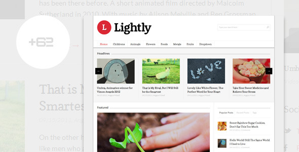 Lightly - Magazine WordPress Theme