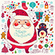 Christmas Card with Santa Claus - GraphicRiver Item for Sale