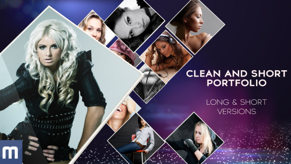 VideoHive Clean And Short Portfolio 3678449