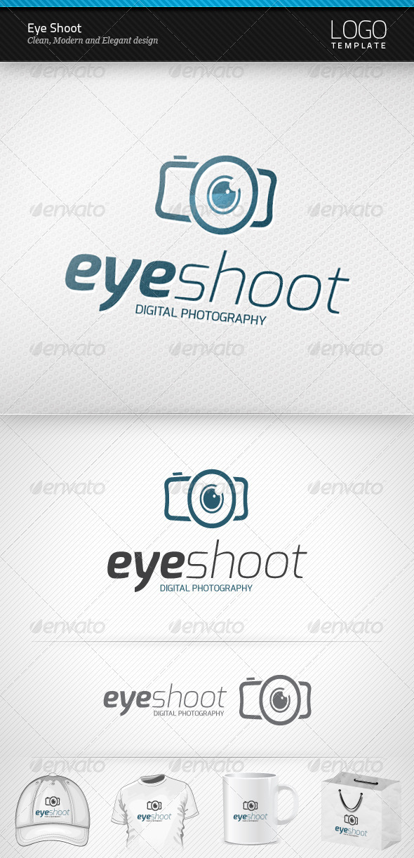 Eye Shoot Logo - Objects Logo Templates