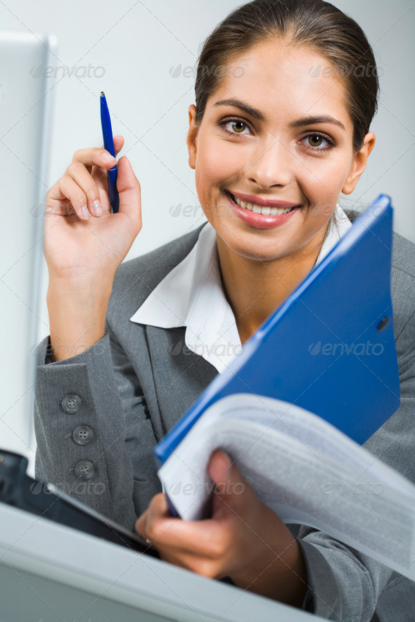 Busy business women - Stock Photo - Images