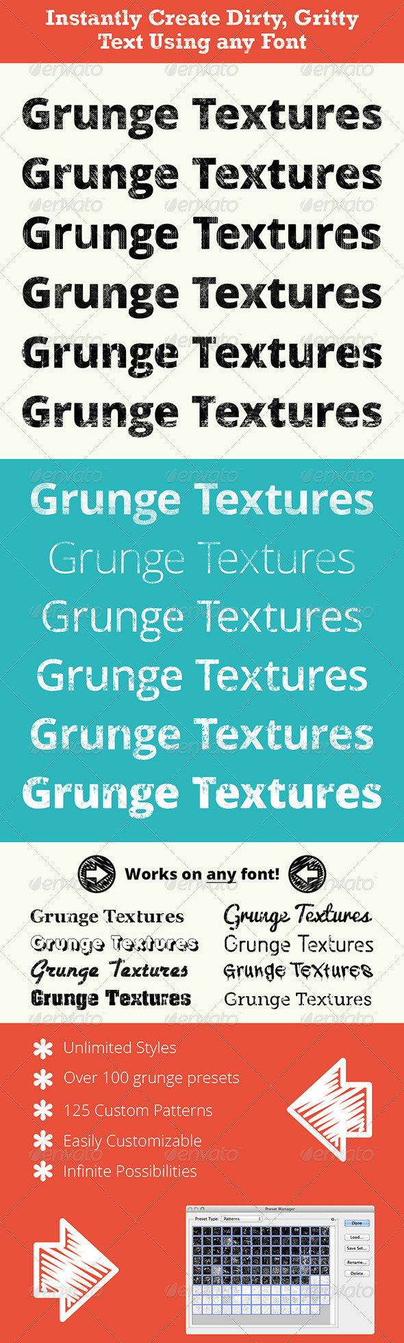 GraphicRiver Pro Grunge Text 3681754