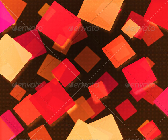 Stock Photography - Dark Red Abstract Squares Background Photodune 3718684