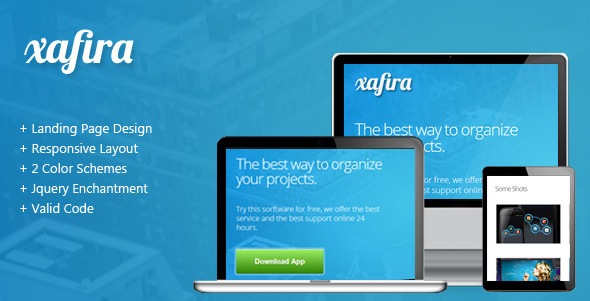 Xafira - Landing Page - Landing Pages Marketing