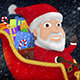 Santa Riding His Sleigh With Reindeer - VideoHive Item for Sale