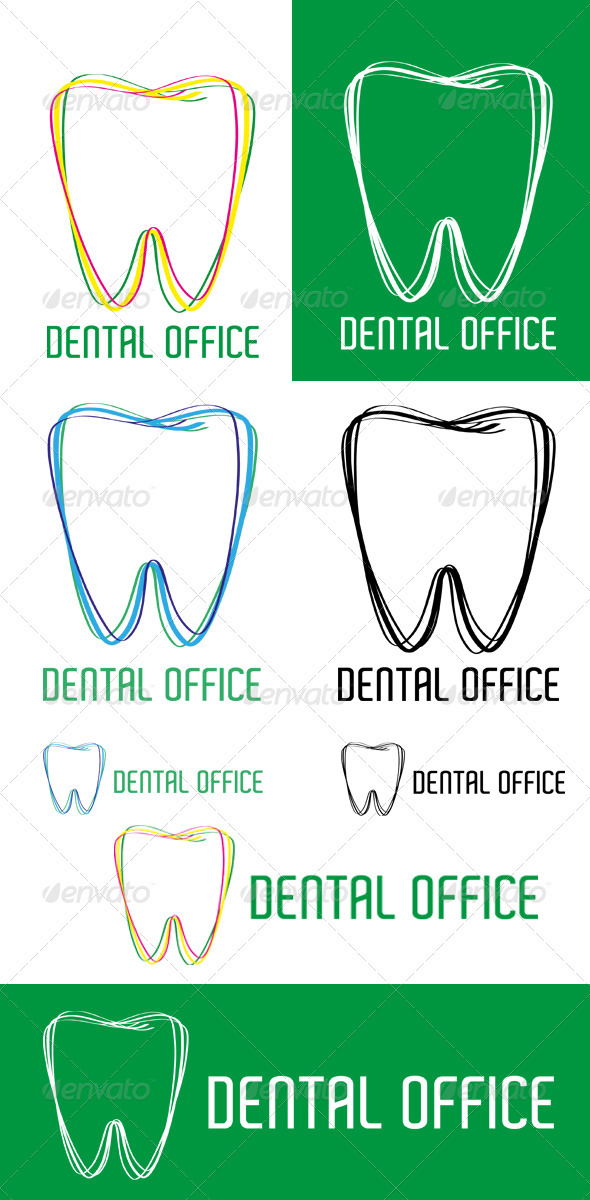 GraphicRiver Dental Office Logo 3614266