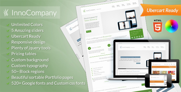 ThemeForest InnoCompany Multipurpose Corporate Drupal theme 3177223