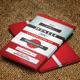 Retro Graphic Designer Business Card - GraphicRiver Item for Sale