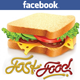 Multi Fast Food FB Timeline Cover - GraphicRiver Item for Sale
