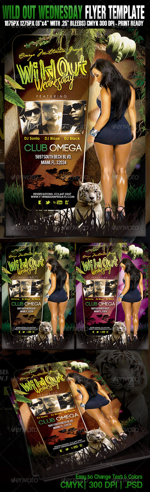 GraphicRiver Wildout Wednesdays 3628870