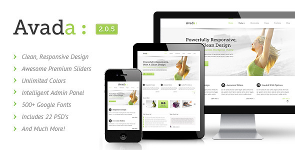 ThemeForest Avada Responsive Multi-Purpose Theme 2833226