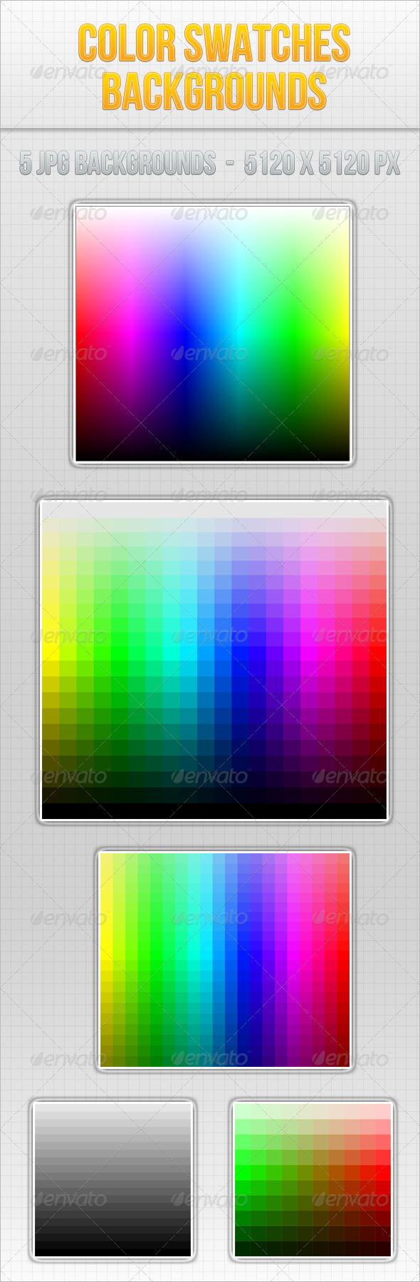 GraphicRiver Color Swatches Background 3691919
