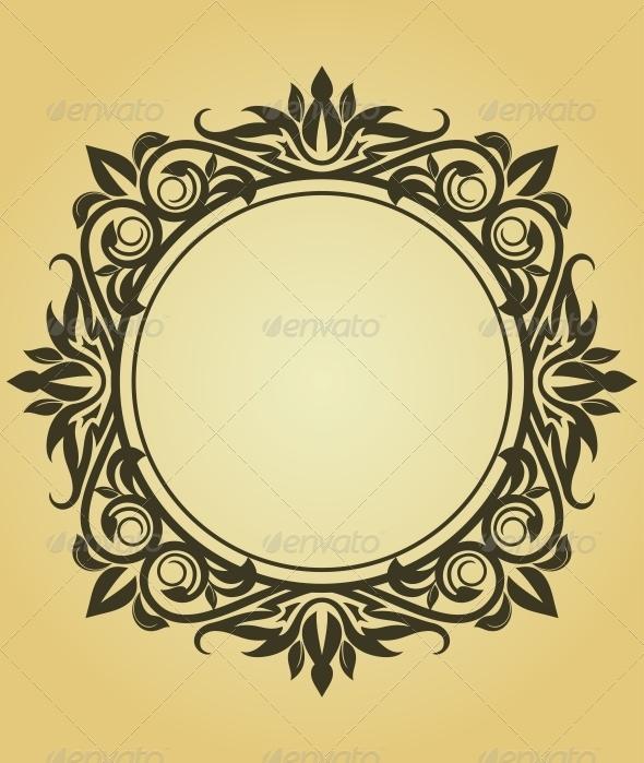 GraphicRiver Vintage Frame 3692943