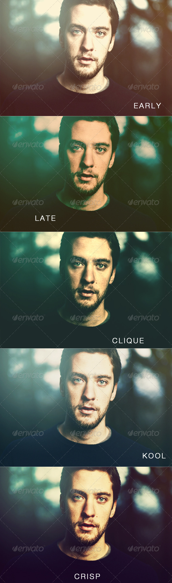 Clean Light Photo Effects & Actions - Photo Effects Actions