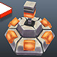 Low Poly Land Mine - 3DOcean Item for Sale