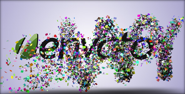 Confetti Reveal VideoHive  Titles  Special Events 110761