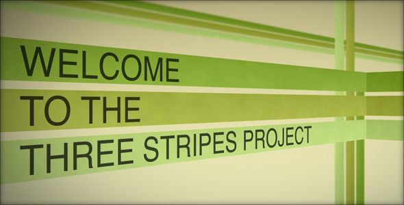 After Effects Project - VideoHive The Three Stripes 91238