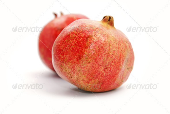 Pomegranates - Stock Photo - Images