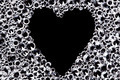 Diamond background with heart shaped space. - PhotoDune Item for Sale