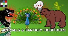 Animals &amp; Fantasy Creatures