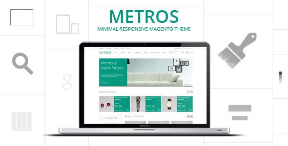 ThemeForest METROS Minimalist Responsive Metro Style Theme 3698187