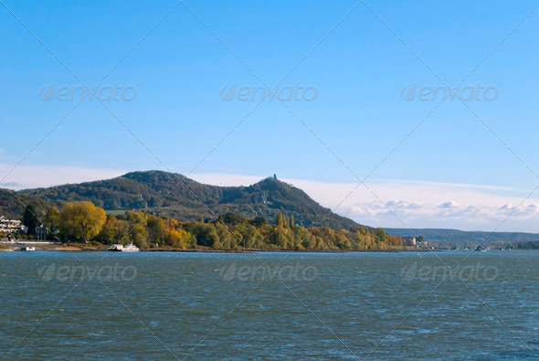 River Rhein - Stock Photo - Images