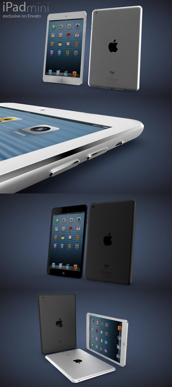 3DOcean iPad mini 3700805