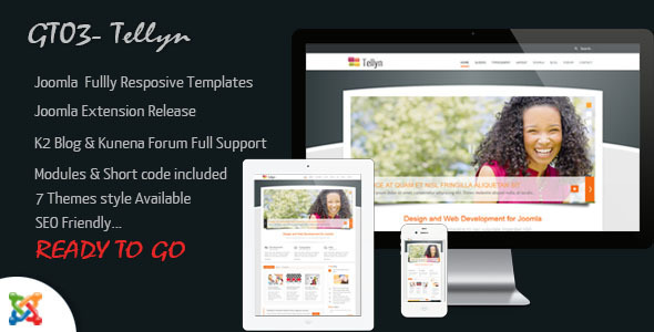 ThemeForest GT03 Multipurpose Joomla Responsive Templates 3688985