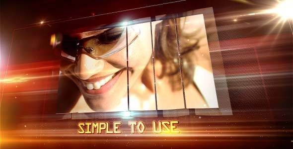VideoHive Sleek and Glares Promo 3701664