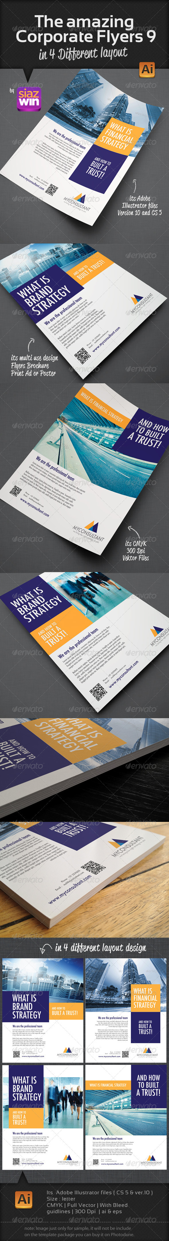 GraphicRiver The Amazing Corporate Flyers 9 3701799